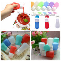 China Manufacturer BPA Free Food Grade Squeeze Bottles for Ketchup