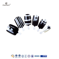 Fengshangmei 24pcs high quality eco-friendly imported abs material curved nail tips