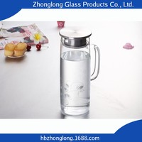 Factory Price Carton Package Glass Jar With Screw Top Lid