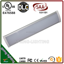 UL DLC CUL SAA listed 50w 60w 100w 120w Low profile LED linear high bay light replacement for conventional batten low bay