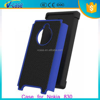 Hight quality fashionable silicone + pc back case cover for Nokia Asha 205 830