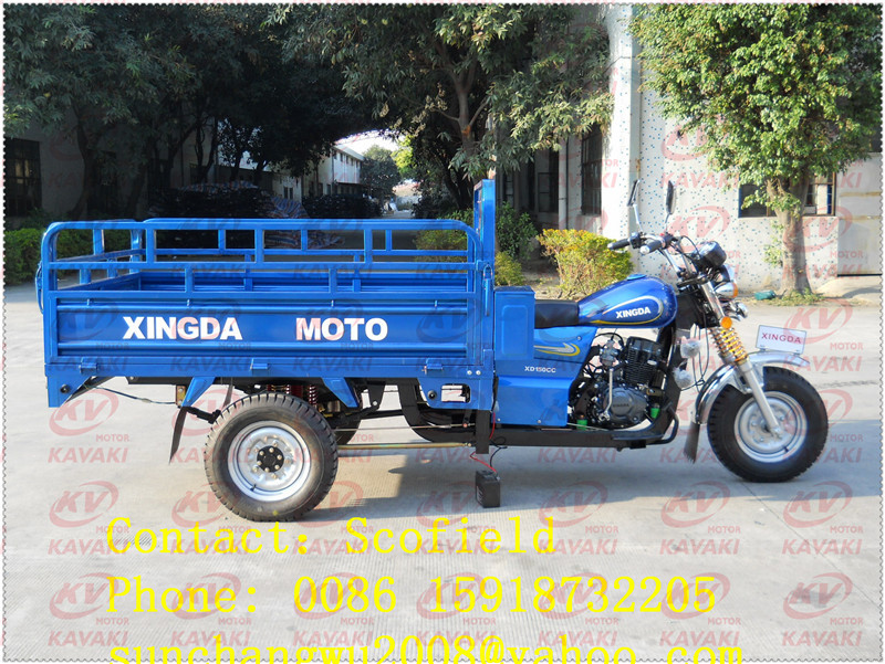 Guangzhou tricycle factory export to Mali 150cc XINGDA motorcycle