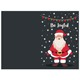 Season's Greetings Cards Bulk Folded Santa Claus Merry Christmas Cards