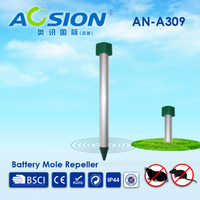 Aosion sales for garden battery electronic snake repeller with alumimum spike