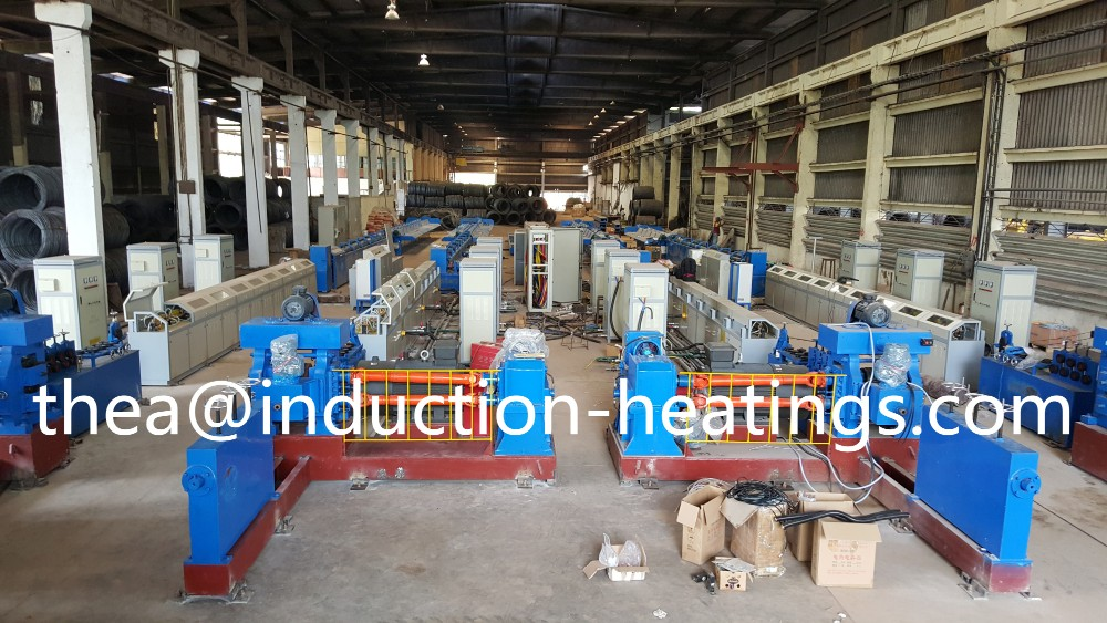 low price high efficiency cold rolled rebar annealing production line induction heating machine