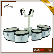 Quintuple Jinbao Marching Tom Set Drums With Holder