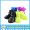 Wholesale Candy Pet Boots Anti Slip Silicone Protective Rubber Cat Dog Rain Shoes Boots S M L Knock Off Shoes