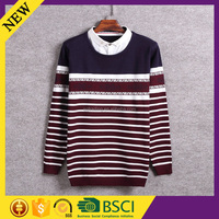 Manufacture acrylic halloween pure jumpers arabic fashion men clothing