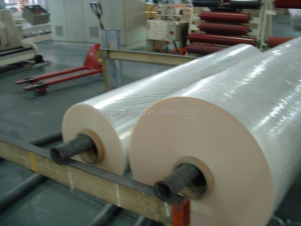 3 micron mylar polyester soft thin clear plastic film in china