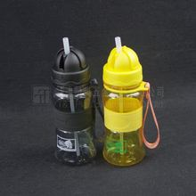 baby drinking cup/travel bottle with straw/cup with handle