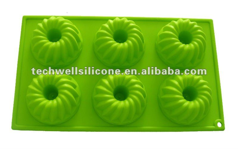 silicone cookie cake pan mould