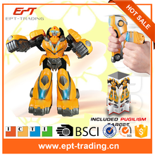 Wholesale top quality kids plastic toy robot with CE