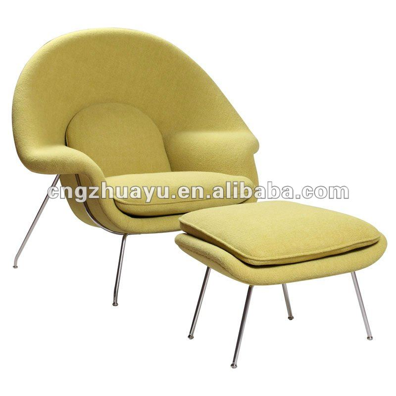 Womb Lounge Chair eero saarinen womb chair with ottoman hy-a073-modern classic