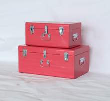 Decorative suitcase style storage boxes cheap