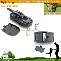 Best Pet Dog Training Suite Tone Vibrate Electric Shock Collar with Remote