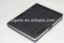 Solar Power leather case For iPad
