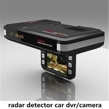 Best selling Russian/English voice vehicle radar detector car dvr/camera for Speed Limited china dvr manufacturer
