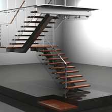 Stainless steel iron carbon steel metal stair stringers for sale from Prima