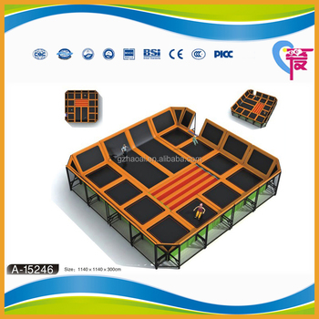 A-15246 cheap funny jumping bed big trampline