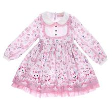 Lolita dress as pictured Sweet Lolita Fluffy Bowknot Dress Cosplay Costume