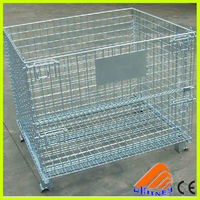 high quality china lockable container,pigeons cages, foldable metal container