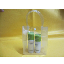wholesale pvc tube handle bag with button closure(SD-CB-062)