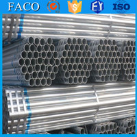 steel structure building materials ! irrigation galvanized tube tianjin pre galvanized round steel pipe