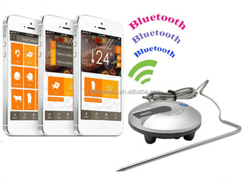 cooking thermometer Bluetooth BBQ thermometer