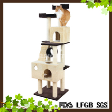 Textile Pet Mariela Cat Tree Playground House