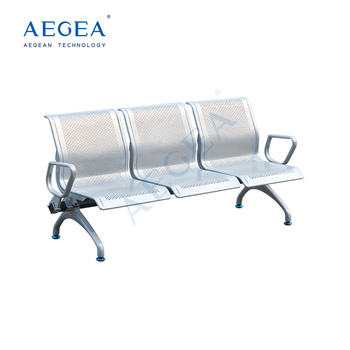 AG-TWC004 stainless steel hospital chairs for patients with three seats