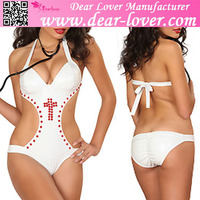 Beautiful Asian Women Studded Nurse Costume Sex Lingerie