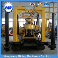 High quality HW130 hydraulic crawler type soil sampling drilling rig for sale