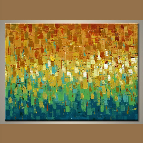 Handmade Abstract Artists Famous Decor Painting