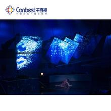 P2 indoor full color rental sex video indoor led screen for stage