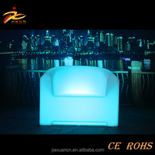 led sofa furniture light illuminated single seat indoor using led sofa