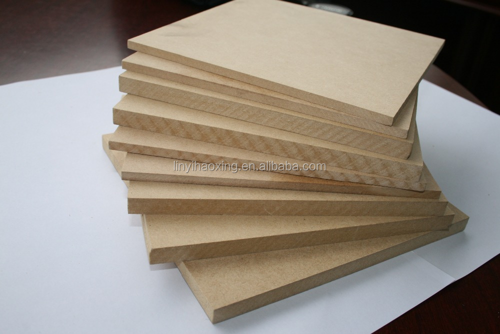 E1 Formaldehyde Emission Standards and Wood Fiber Material raw mdf