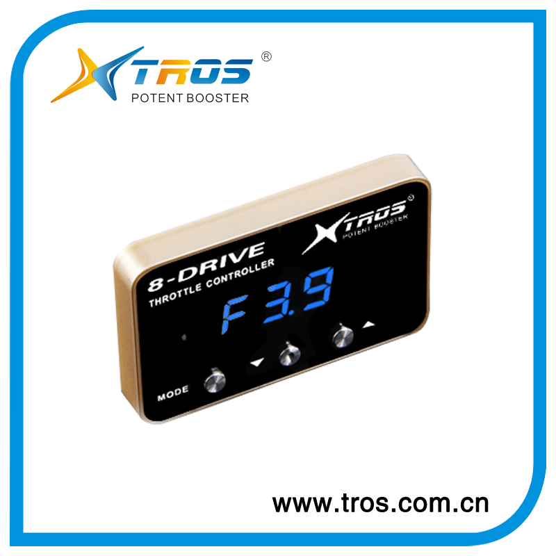 Fuel Saving Auto Tuning Car Accessory ,60% Speed Acceleration Speed Sensor Electronic Throttle Led Controller