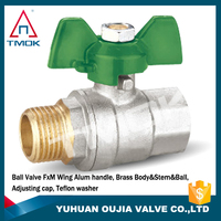 With CE certification for pipeline chemical resistant high quality thread thread ball valve