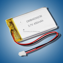 rechargeable Lipo battery 3200mah 3.7V GMB125050 for GPS / li polymer battery 3.7V 3200mah