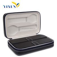 PU Leather Watch Box, Watch Case for 2 Watches