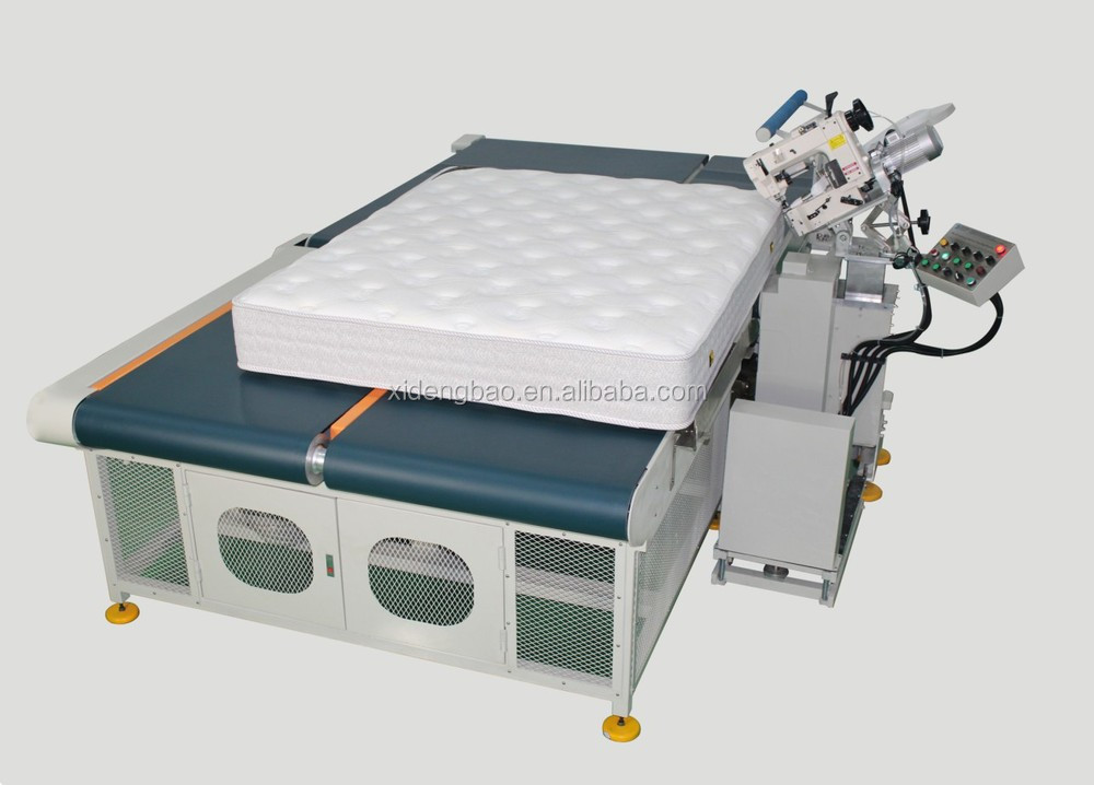 High Quality Automatic Mattress Tape Edge Machine With Chainstitch Sewing Head