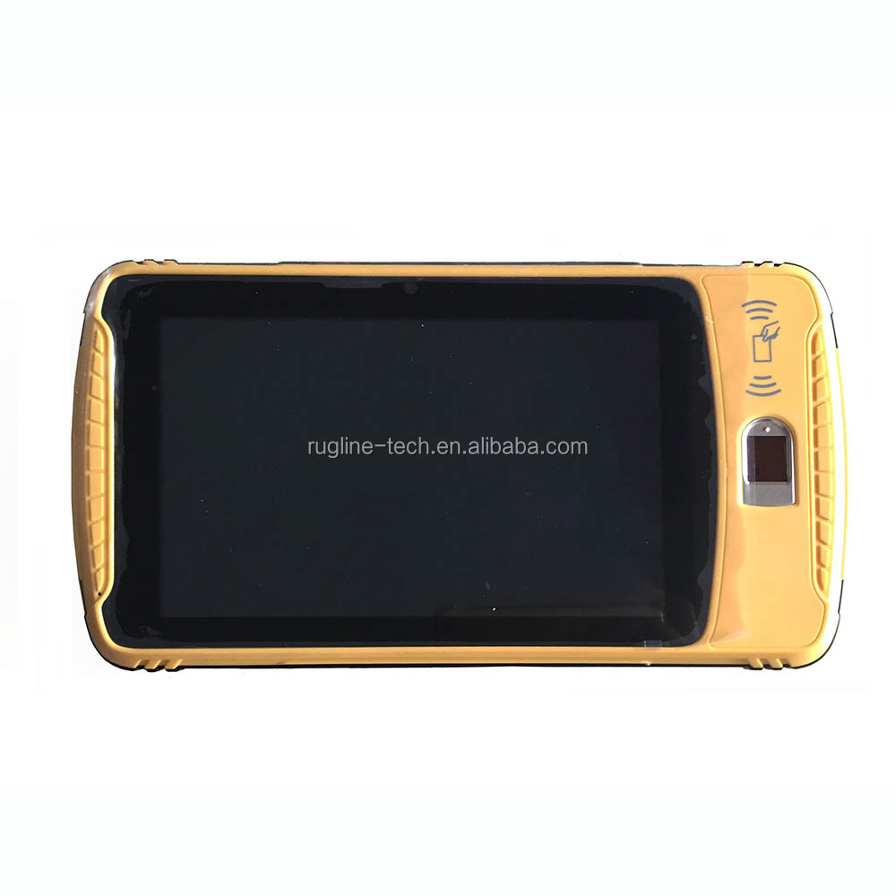 Portable Fingerprint Reader Best Android Handheld wireless GPRS biometric device with 4G LTE