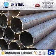 SS400 stk400 erw carbon round steel pipe double random length pipe