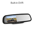1080p high brghtness car dvr rearview mirror