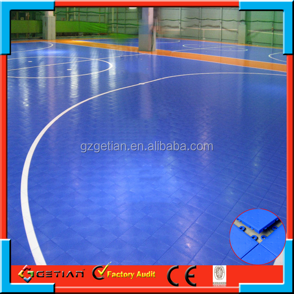 Anti slip indoor basketball ground winter play area for for Indoor basketball court cost