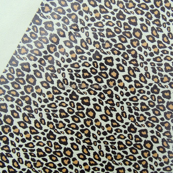 PU leather digital printed fabric for fashion cloth