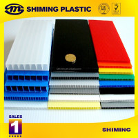 Recycled Polypropylene PP Corrugated Plastic Sheet