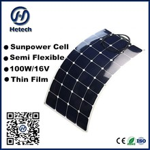 world best selling products 100w mono flex solar panel with 25 years warranty