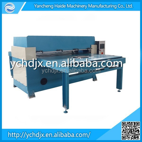Large tonnage Automatic polyester/fabric Type and New Condition automatic pleating machine