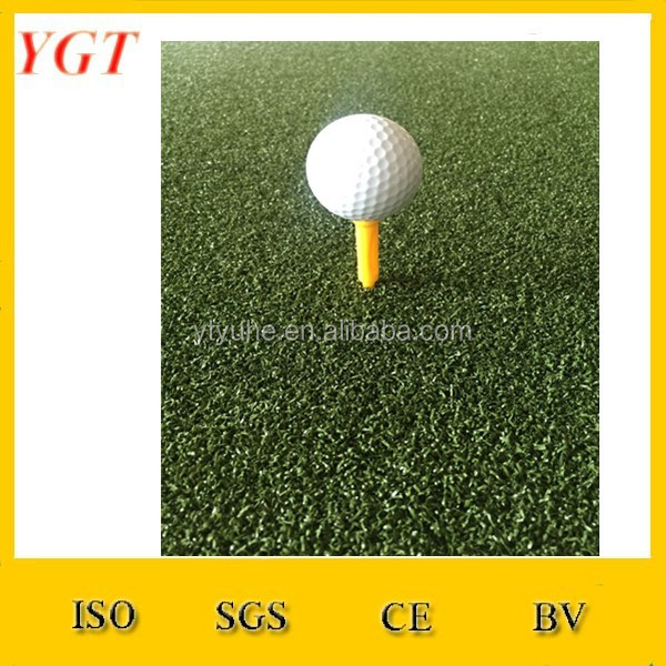 Golf Chipping Mat Driving Practice Green Training Range Putting Aid Turf Tee
